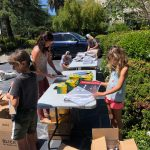 WFAE Distributes 1,200 Art Supply Kits to Livermore Students